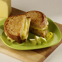 Grilled Wisconsin Havarti Sandwich with Spiced Apples