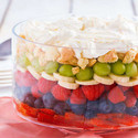 Layered Fruit Dessert